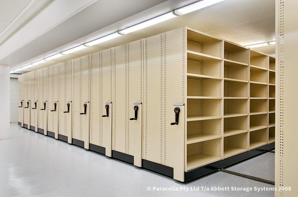 Mobile Storage System Shelves