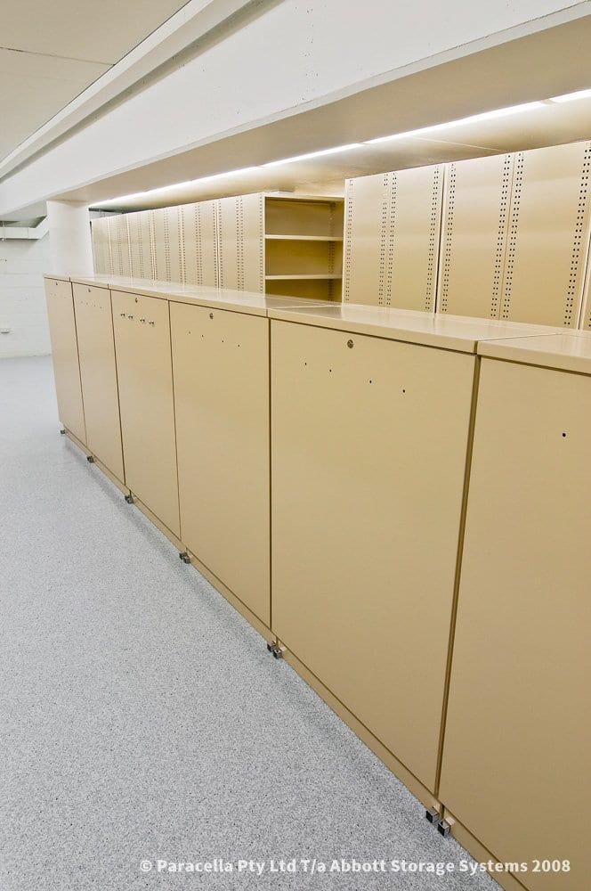 Vertical Plan Cabinet Closed