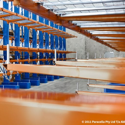 Halliburton - Warehouse - Cantilever Racking Arms
