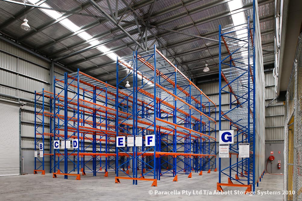 Racking System - Selective Pallet Racking