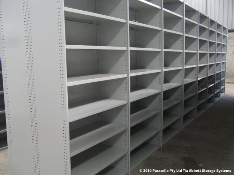 Rolled Upright Shelving - Lean Warehouse Storage