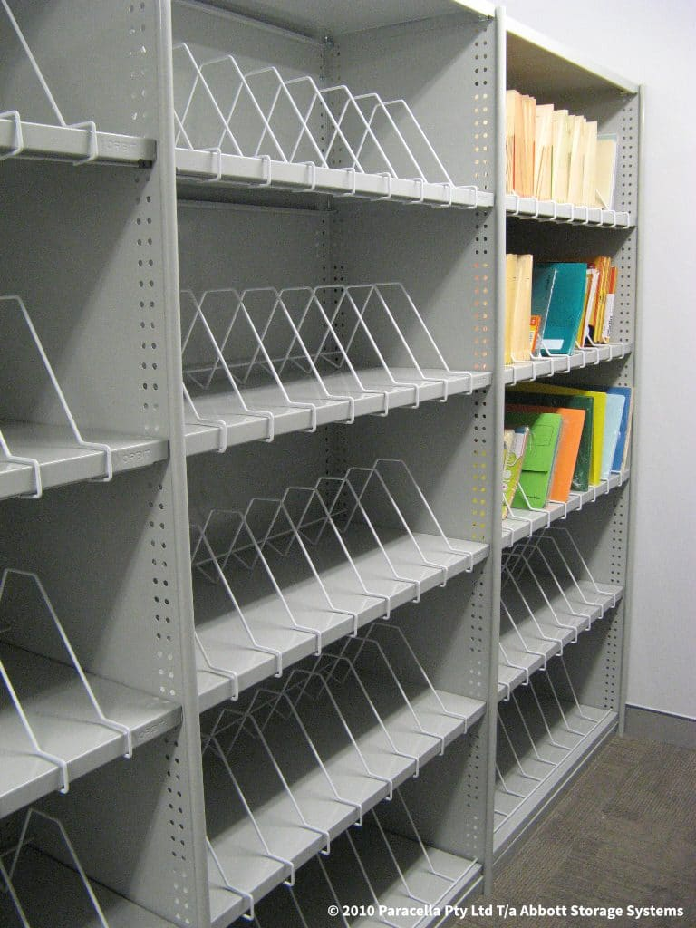 Rolled Upright Shelving - Lean Office Storage