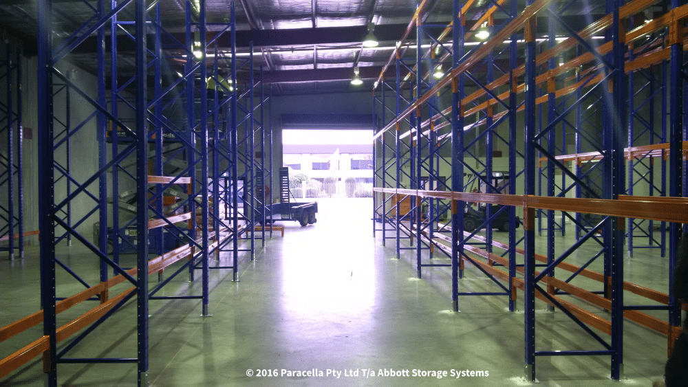Rittal - Selective Pallet Racking Installation
