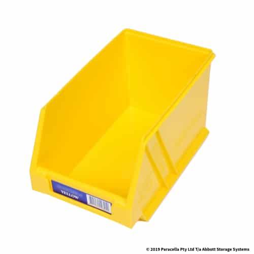 PL29130 Parts Bin Ultra 133w x 220d x 125h Yellow
