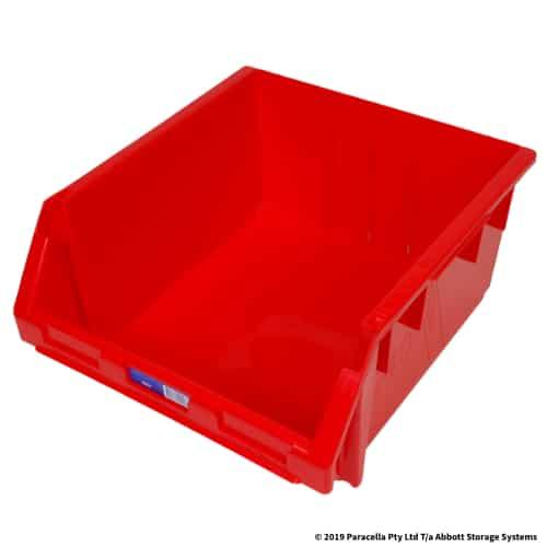 PL29270 Parts Bin Ultra 410w x 440d x 210h Red - Dimensions