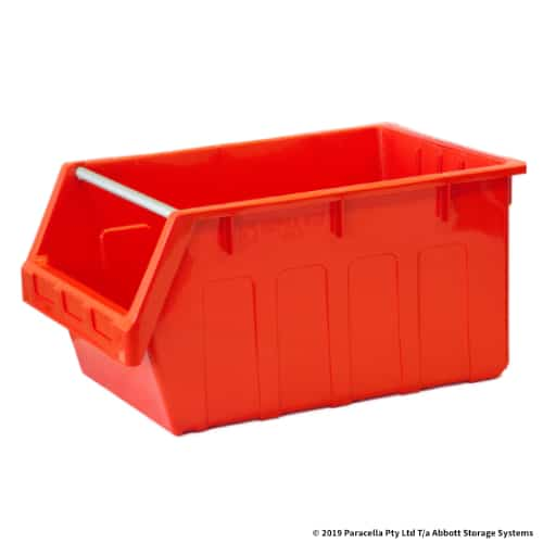 Storage Problems | PL30410 Parts Bin Metro 425w x 600d x 300h Red