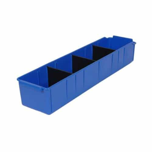 PL32110 - Blue Parts Tray 615D x 100W x 110H including 3 dividers