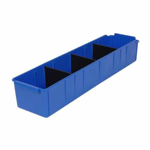 PL32210 - Blue Parts Tray 615D x 150W x 110H including 3 dividers
