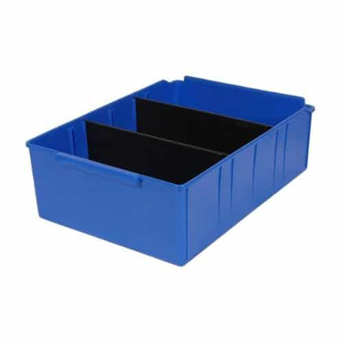 PL32260 - Blue Parts Tray 415D x 300W x 135H including 2 dividers