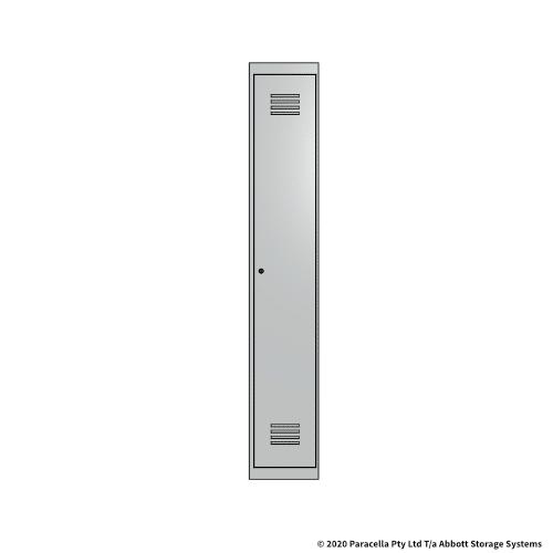 White 1 Door Locker 1800H x 300W x 450D Single