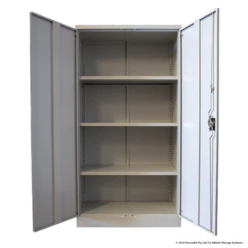 CB2606GY - Storage Cabinet 1830h x 915w x 457d 3 Shelf Grey