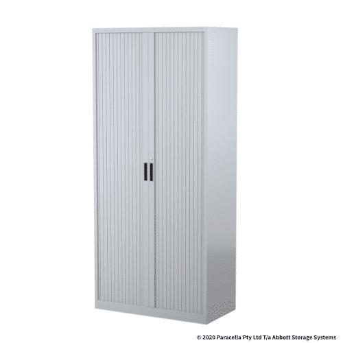 Tambour Door Cabinet 1980H x 900W x 500DGrey CB2635SG