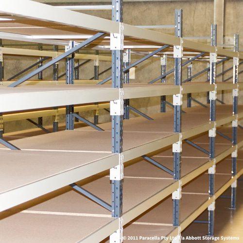 Long Span Shelving - 18mm Particle Board Shelves