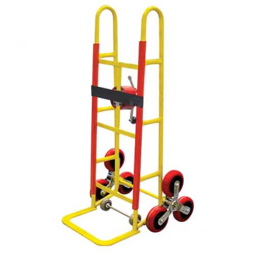 ABSCR114S - Stairclimber Trolley 250kg Rebound Rubber Wheels Trolley Size 1200 x 410
