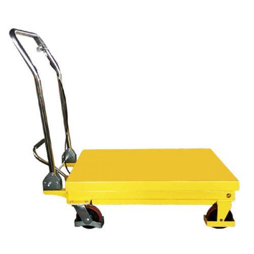 Scissor Lift Table Lowered