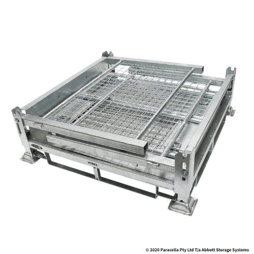 PS73300 Galvanised Stillage 1000H - Folded