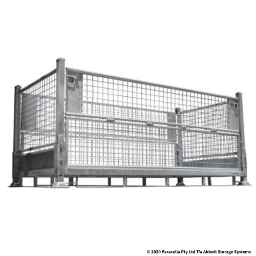PS73700 Double Width Galvanised Stillage 1000H