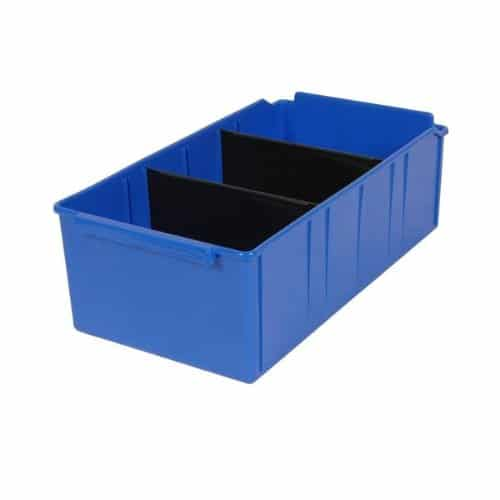 PL32180 - Blue Parts Tray 415D x 220W x 135H including 2 dividers