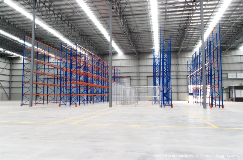 Kent Removals & Storage - Warehouse Fitout