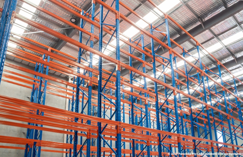 MediWest Distributors - Racking Solution - Selective Pallet Racking
