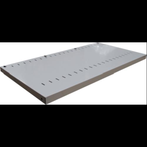 CB2647SG - Tambour Door Cabinet Adjustable Shelf 900 x 500 Silver Grey
