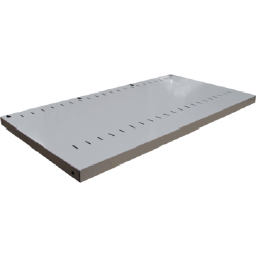 CB2649SG - Tambour Door Cabinet Adjustable Shelf 1200 x 500 Silver Grey