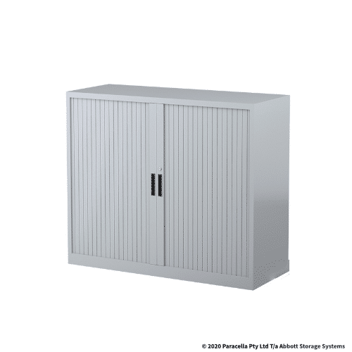 Tambour Door Cabinet 1020H x 1200W x 500DGrey