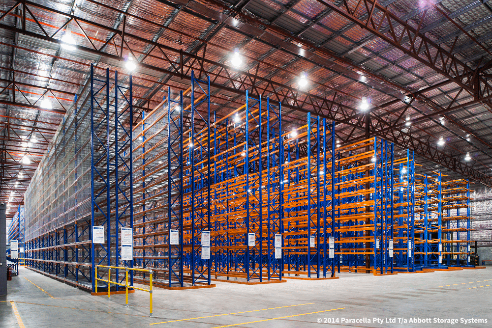 Warehouse Racking and Storage System