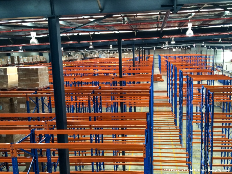 Gerard Lighting - Commercial Storage Solution - Minto NSW
