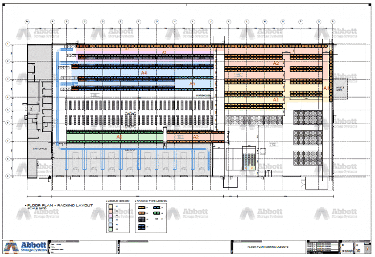 Warehouse Design Consultation - Warehouse Racking Layout