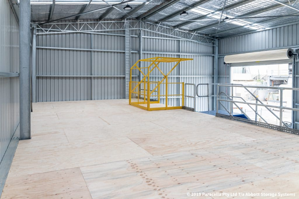 Cargill - Structural Raise Storage Area Flooring