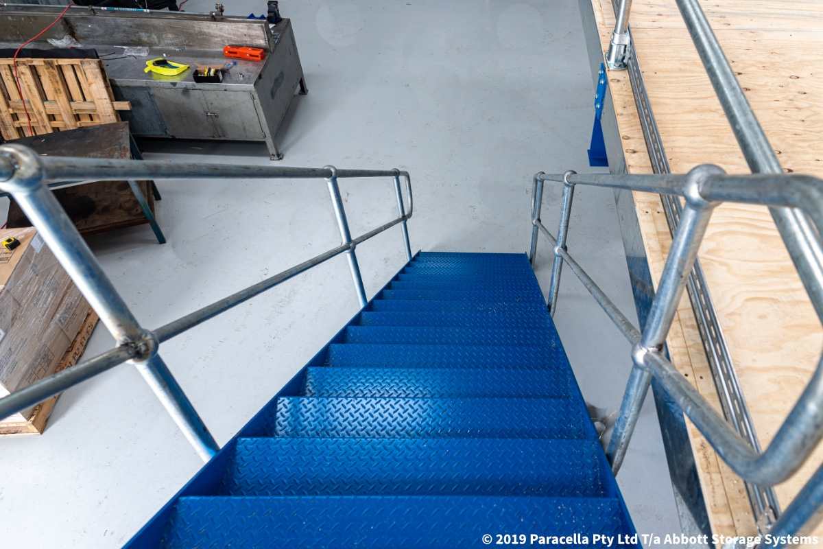 Cargill - Structural Raised Storage Area Stairway