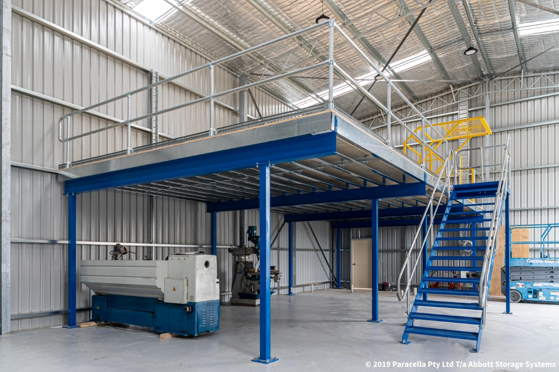 Cargill - Structural Raise Storage Area Stairway