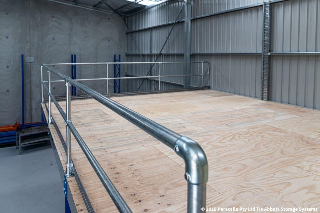 Cargill - Structural Raise Storage Area Rail