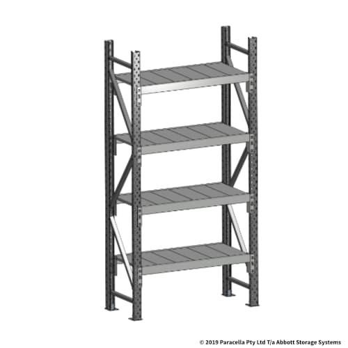 2000H 900W 450D Steel Shelf Panels Initial