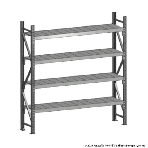 Open Span OS43630 2000H 1800W 450D Steel Shelf Panels Initial