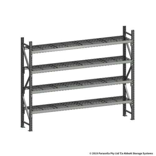 Open Span OS44650 2000H 2400W 450D Wire Shelf Panels Initial
