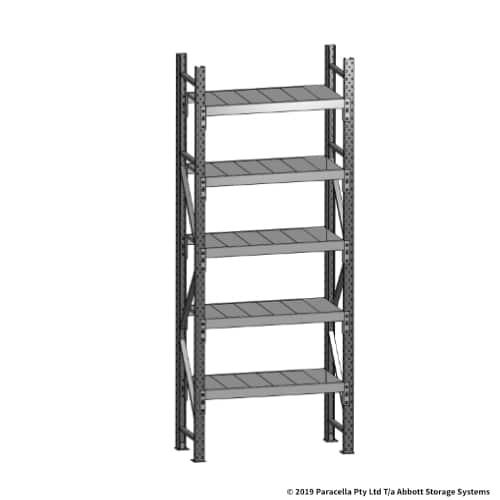 Open Span OS43669 2500H 900W 450D Steel Shelf Panels Initial