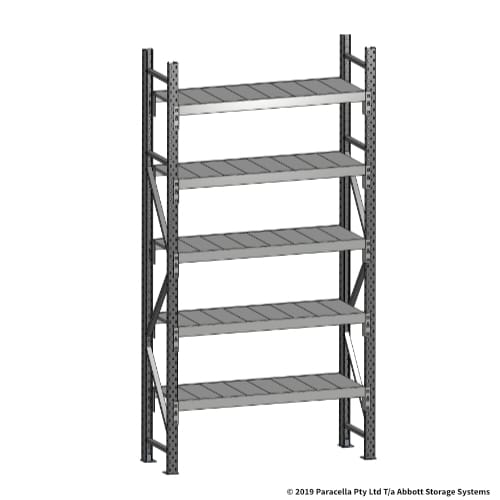 Open Span OS43670 2500H 1200W 450D Steel Shelf Panels Initial