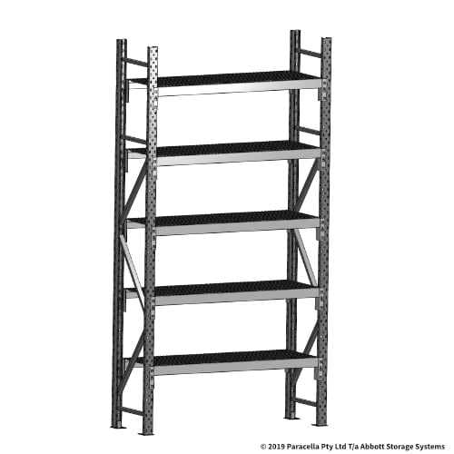 Open Span OS44670 2500H 1200W 450D Wire Shelf Panels Initial