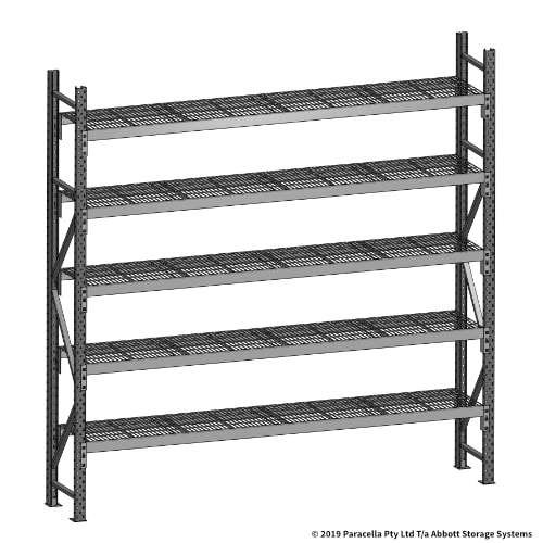 Open Span OS44710 2500H 2400W 450D Wire Shelf Panels Initial