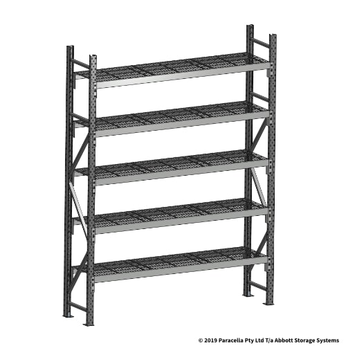 Open Span OS44690 2500H 1800W 450D Wire Shelf Panels Initial