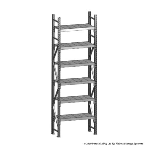Open Span OS43729 3000H 900W 450D Steel Shelf Panels Initial