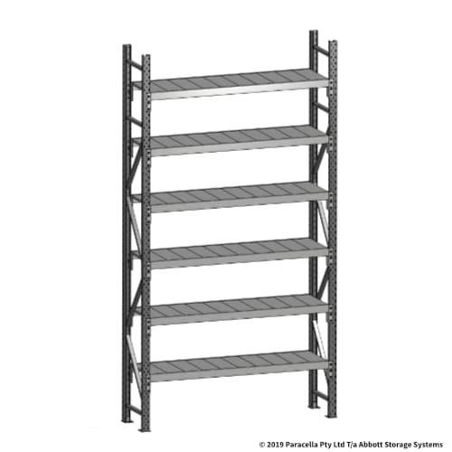 Open Span OS43731 3000H 1500W 450D Steel Shelf Panels Initial