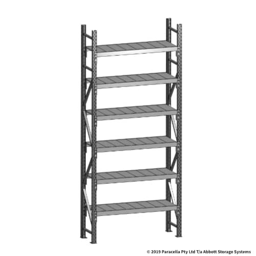 Open Span OS43730 3000H 1200W 450D Steel Shelf Panels Initial