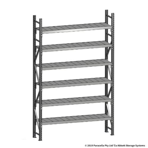 Open Span OS43750 3000H 1800W 450D Steel Shelf Panels Initial