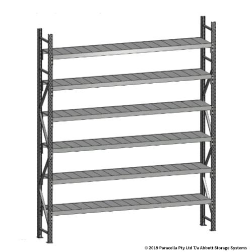 Open Span OS43770 3000H 2400W 450D Steel Shelf Panels Initial