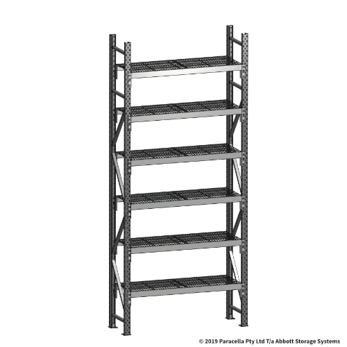 Open Span OS44730 3000H 1200W 450D Wire Shelf Panels Initial