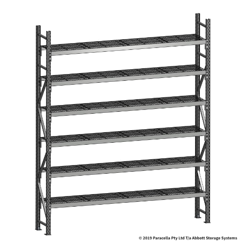 Open Span OS44770 3000H 2400W 450D Wire Shelf Panels Initial