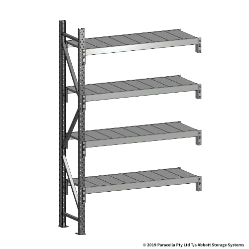 Open Span OS43620 2000H 1200W 450D Steel Shelf Panels Add-On